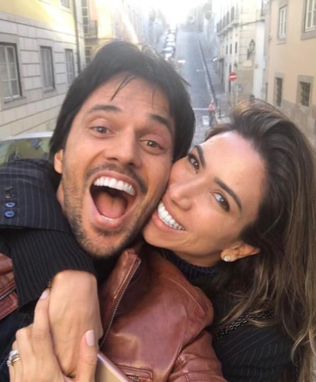 Patricia Abravanel e Fábio Faria (Foto: Reprodução/Instagram)