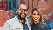 Daiane Fardin recebeu Tiago Abravanel e Michele Mara (Divulgação/RPC)