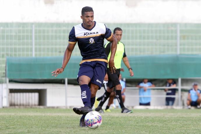 fabrício baiano, jogo-treino boavista x macaé (Foto: Tiago Ferreira / Macaé Esporte)