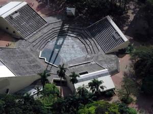 Teatro de Arena do Centro de Convivência Cultural de Campinas (Foto: Valeia Abras / Prefeitura de Campinas)