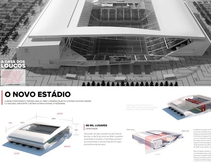 print info estádio corinthians (Foto: arte esporte)