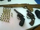 Operação contra porte irregular de armas é feita na Zona da Mata