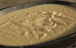Purê de grão-de-bico com castanha-do-Pará