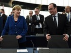 Merkel e Hollande pedem maior unidade à UE ante crise de migrantes
