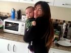Jaque Khury dança forró com o filho Gael e posta vídeo