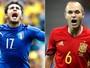 Eurocopa 2016: Globo exibe a partida entre Itália e Espanha nesta segunda