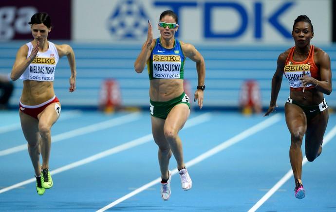Franciela Krasucki atletismo polonia mundial (Foto: Reuters)
