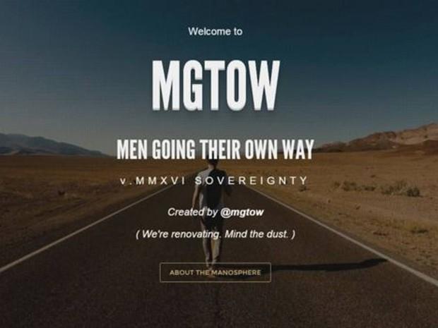Página oficial do Men Going Their Own Way  (Foto: Men Going Their Own Way)