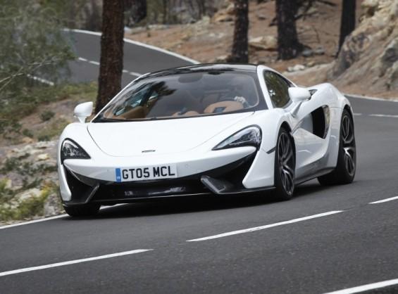 Carro esportivo da McLaren. Apple está interessada na engenharia por trás da fabricação (Foto: Divulgação)