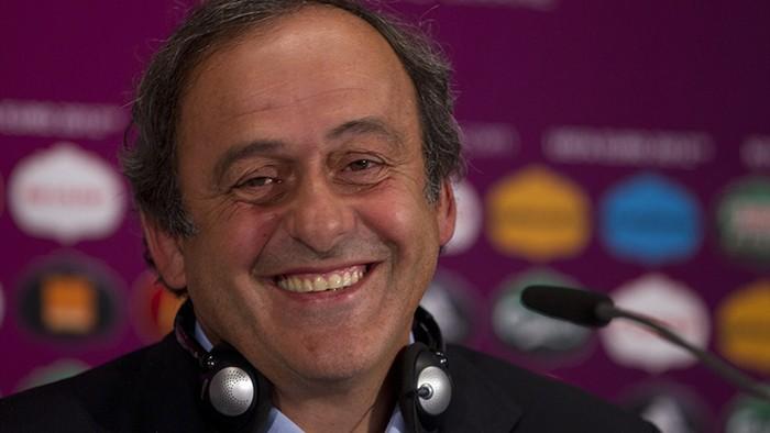 Michel Platini, presidente da Uefa