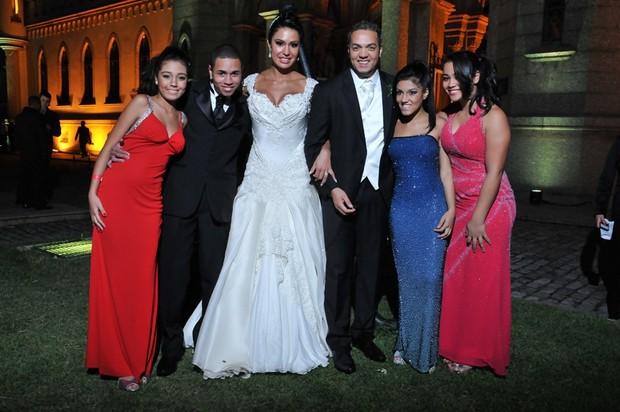 Casamento de Belo e Gracyanne (Foto: Edilson Dias / Foto Studio)