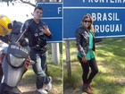 Casal viaja pela América do Sul em moto que homenageia Che Guevara