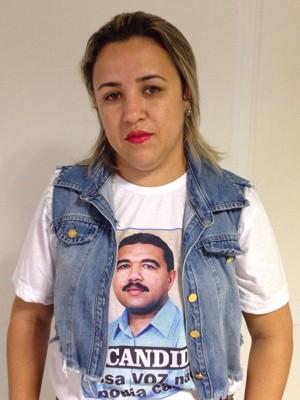 A filha de Jota Cândido espera que réus sejam condenados e mandantes do crime, descobertos (Foto: Wagner Sarmento/ TV Globo)