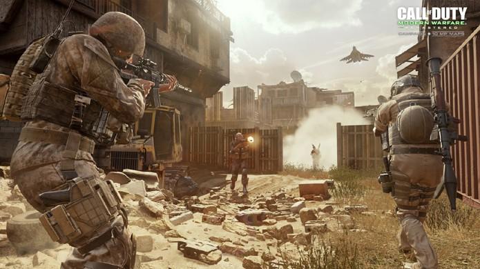 Call of Duty: Modern Warfare Remastered é na verdade um remake de Call of Duty 4 apesar de se intitular remaster (Foto: Divulgação/Activision)