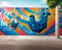 Fotos: atletas olímpicos e paralímpicos viram tema de grafite nas ruas do Rio