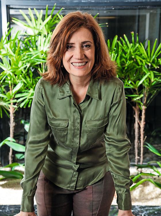 A jornalista Miriam Leitão  (Foto: Dario Zalis/TV Globo)