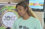 Jogadora de basquete da Seleção, Iziane, desembarca em Porto Velho