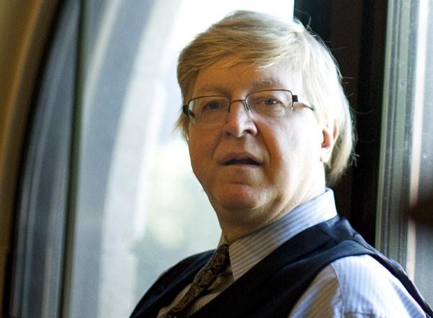 Nicolau Sevecenko na Universidade Harvard, em 2010 (Foto: Divulgação/Stephanie Mitchell/Universidade Harvard)