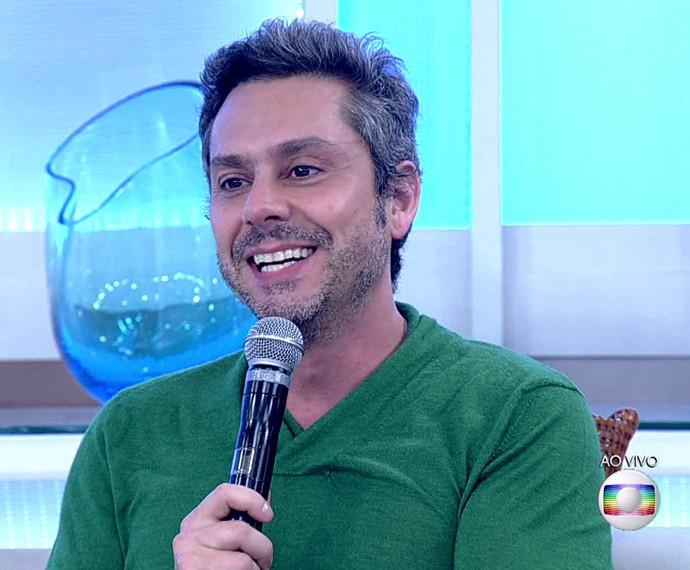 Alexandre Nero será pai daqui a 3 meses (Foto: TV Globo)