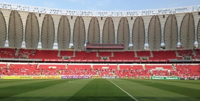 Beira-Rio recebe Inter x Fluminense (Foto: Diego Guichard/GloboEsporte.com)