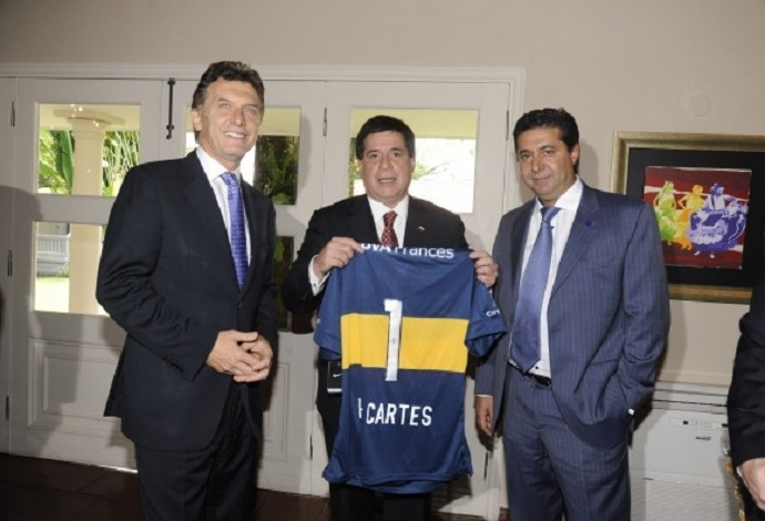 Mauricio Macri Boca Juniors (Foto: Divulgação)