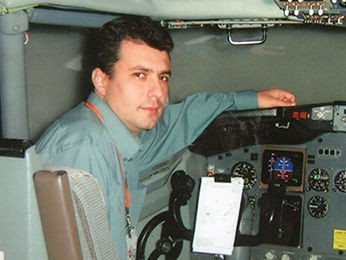 Piloto Evandro desapareceu no último sábado (20) (Foto: Arquivo pessoal)