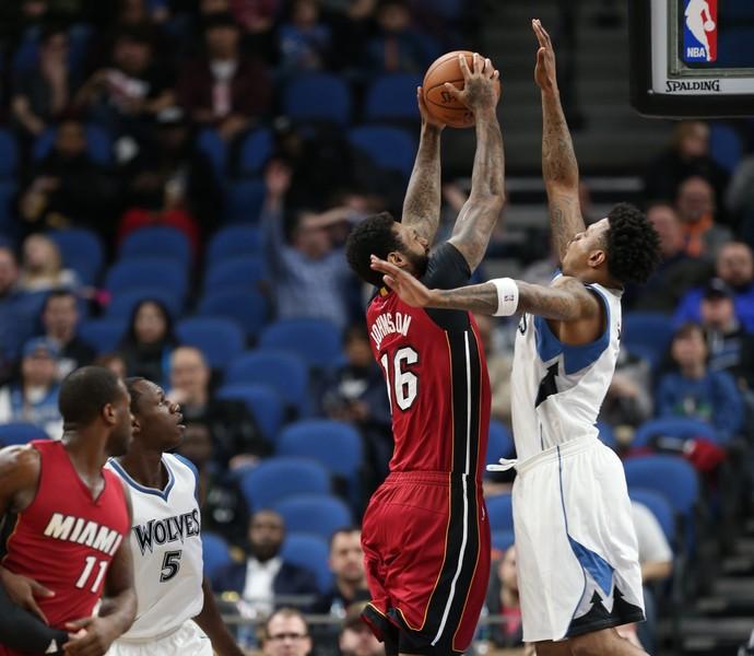 Minnesota Timberwolves vs. Miami Heat NBA (Foto: Divulgação/Miami Heat)