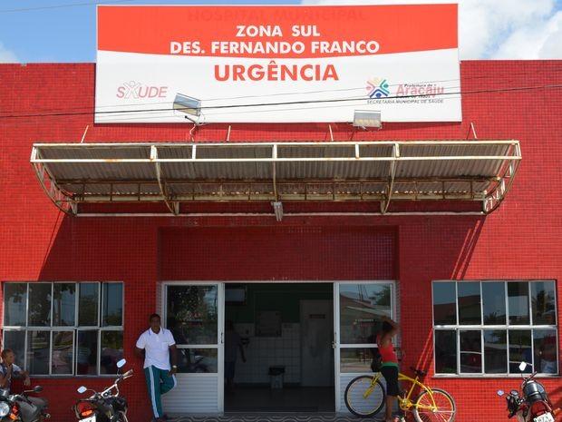 Unidade de Pronto-Atendimento Fernando Franco, na Zona Sul de Aracaju, em Sergipe (Foto: Marina Fontenele/G1 SE)