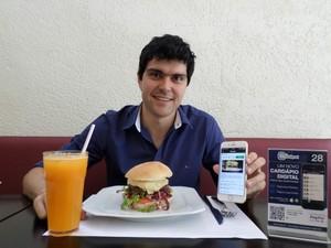 Rafael Arb pretende que seu aplicativo seja usado em estabelecimentos de SP (Foto: Divulgação)