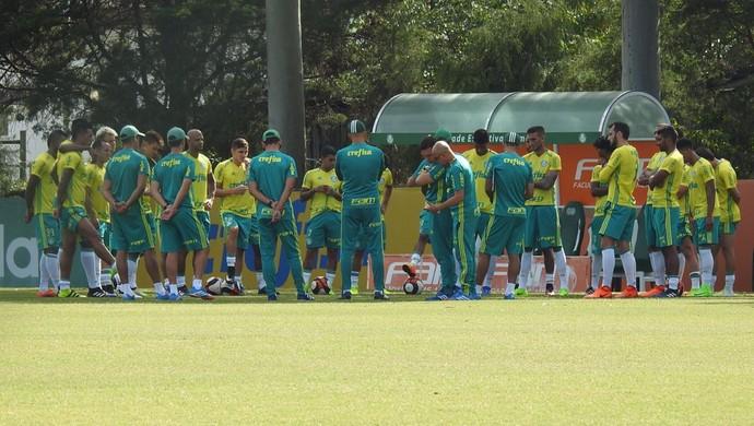 Elenco Palmeiras (Foto: Tossiro Neto)