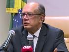 Gilmar Mendes diz que denúncia do MPF dá 'segurança' à defesa de Lula