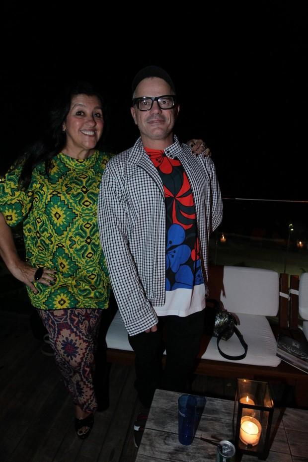 Regina Casé e Giovanni Bianco (Foto: Marcello Sá Barretto / AgNews)