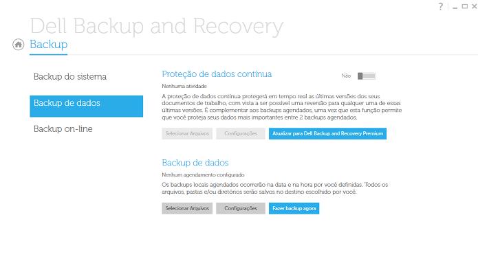 Fazer backup de arquivos é muito simples (Foto: Thiago Barros/Reprodução)