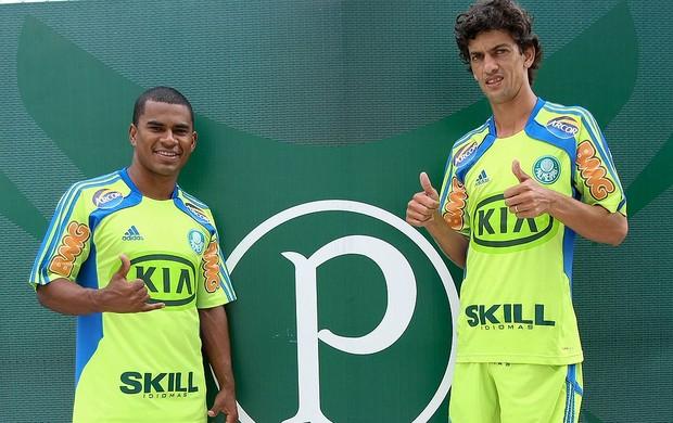 Fernandinho e Mazinho reforços do Palmeiras (Foto: Cesar Greco / Agência Estado)