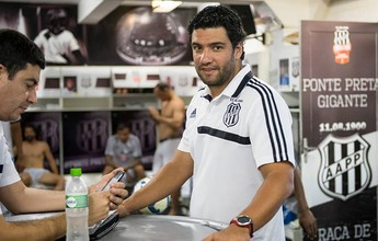 """Nome de """"consenso"""", Felipe Moreira terá chance de treinar Ponte em 2017"""