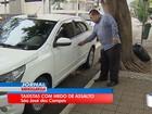 Taxistas são vítimas de mais de 20 assaltos neste ano em São José, SP