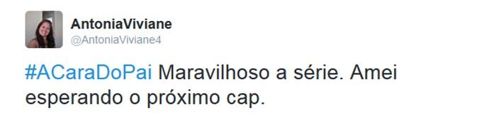 Internautas comentam estreia de 'A Cara do Pai' nas redes sociais (Foto: Reprodução)