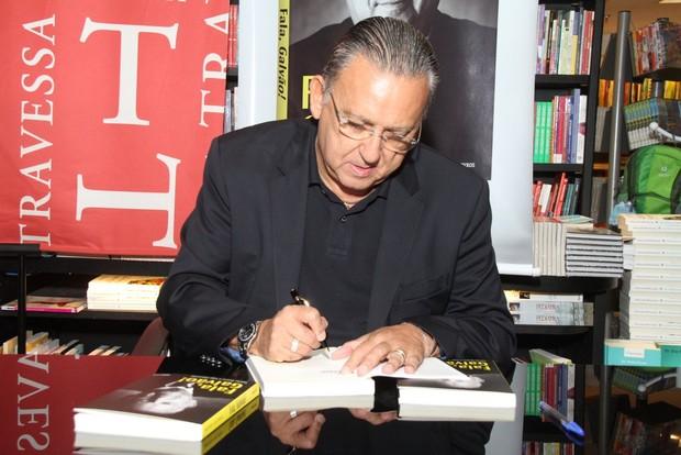 Galvão Bueno lança biografia no Rio de Janeiro (Foto: Thyago Andrade/Fotorio News)