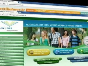 Fundo de Financiamento Estudantil (Foto: Reprodução/TV Mirante)