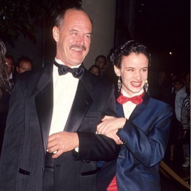Juliette Lewis e o pai (Foto: Reprodução/Instagram)