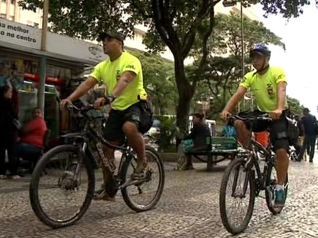 Reforço começou nesta terça-feira, após série de assaltos (Foto: Reprodução/TV Globo)