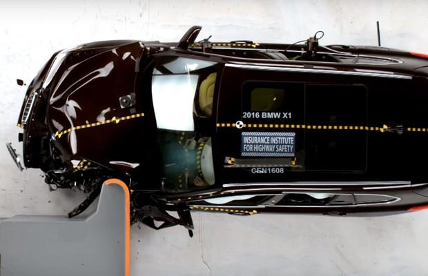 BMW X1 recebe nota máxima de segurança nos EUA (Foto: Reprodução)