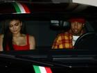 Kylie Jenner usa vestido sexy em programa romântico com Tyga