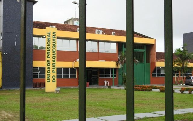 Unidade Prisional de Puraquequara fica em Manaus (Foto: Suelen Gonçalves/ G1 AM)