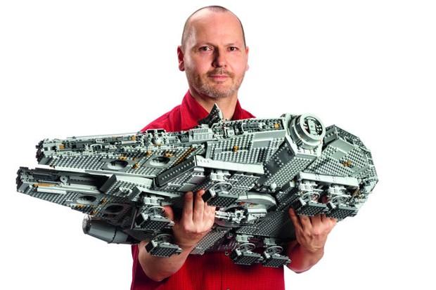 7.541 peças de Millennium Falcon: nada mau (Foto: reprodução )