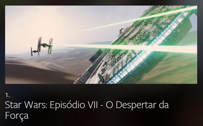 Star Wars foi o filme mais comentado no mundo inteiro (Foto: Divulgação/Facebook)