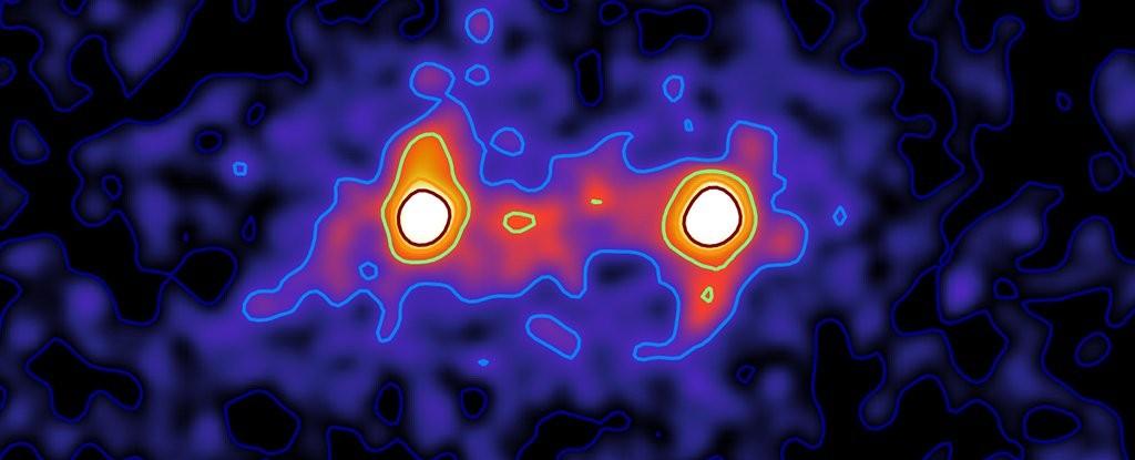 Pesquisadores registram primeira imagem de rede de matéria escura
