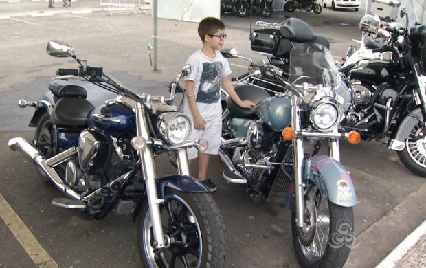 Começam os preparativos para o 8° Encontro Internacional de Motos de Alta Cilindrada  (Foto: Bom Dia Amazônia)