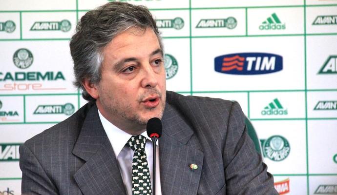 Paulo Nobre, Coletiva Palmeiras (Foto: Sergio Gandolphi)