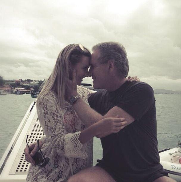Roberto Justus e namorada, Ana Paula (Foto: Instagram/Reprodução)